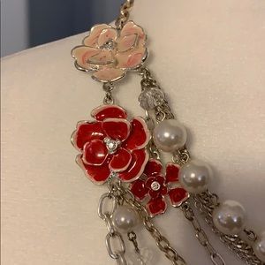 White House Black Market Jewelry - White House black market statement necklace